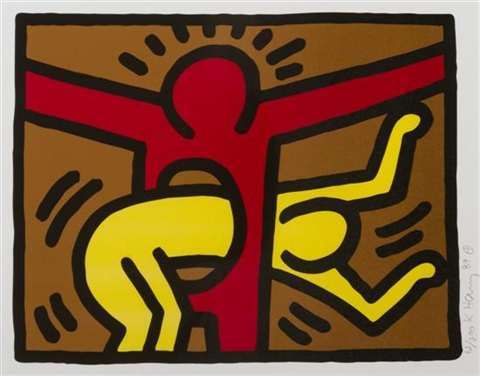 popshop iv by keith haring