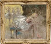 ballerina, ballet girl by louis icart
