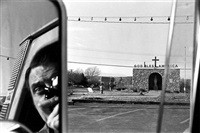 rt 9w (route 9w, ny) by lee friedlander