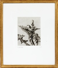 thistle by lucian freud
