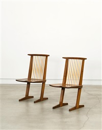 Pair Of U0027Conoidu0027 Chairs, ...
