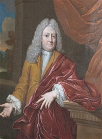 portrait of a gentleman by mattheus verheyden