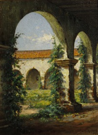 mission portico by charles albert rogers