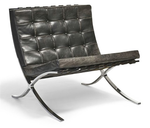 Barcelona Chair (model No. Mr90) By Ludwig Mies Van Der Rohe