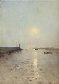 hamn i soldis by axel lindman