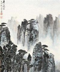 庐山胜景 by xu zihe