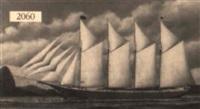 schooner perry setzer by carl gustav ludvig jacobsen