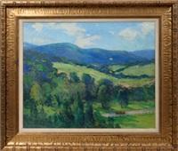 rolling landscape by frank edward lloyd