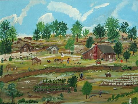 working on the farm by sarah albritton