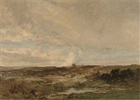 duneton common, winter by oliver hall