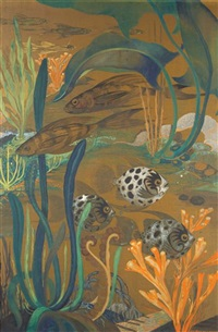 decorative marine panel by ada rasario cecere