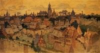 grad kitezh by appolinari mikhailovich vasnetsov