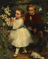 två syskon by james sant