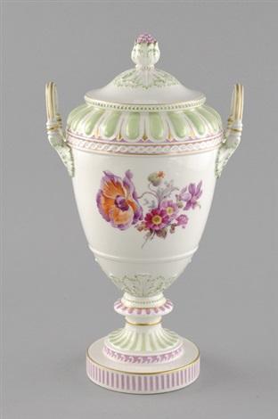deckelvase weimarer vase by kpm königliche porzellan manufaktur co