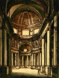 inneres einer kirche by carl gustaf tessin