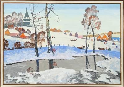 winter by stas blinov