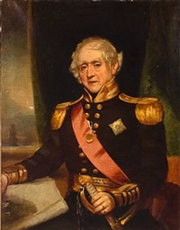 admiral sir james hawkins-whiteshed bart, c.c.b by frederick cruickshank