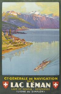 lac leman by johann emil müller