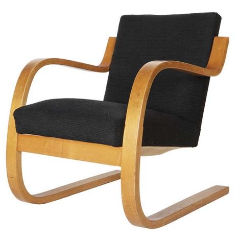 Chaise De Salon Artek Model 402 By Alvar Aalto