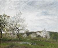 blommande fruktträd iii by carl fredrik hill