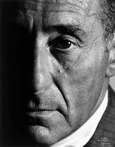 portrait of alfred eisenstaedt by philippe halsman