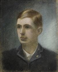porträtt av konstnärens bror adrian by eugene fredrik jansson