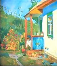 devant la datcha by anna litvinenko