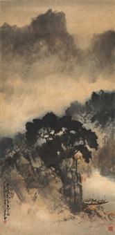 漓江山水图 (lijiang river) by zhao shaoang