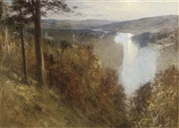the river spey from tomanurie hut by george reid