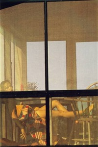 lanesville by saul leiter