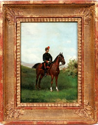 french cavalry soldier by paul emile léon perboyre