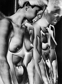 nude in the mirror by heinrich heidersberger