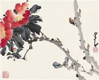 花卉草虫图 (flowers and insects) by zhao shaoang