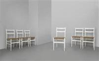 sei sedie leggera by gio ponti