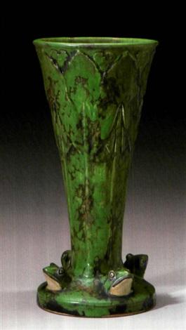 Frog Vase By Weller Pottery On Artnet