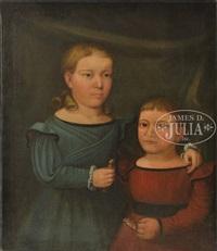portrait of two children by horace bundy