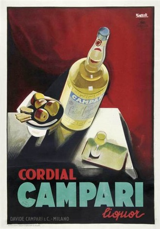 cordial campari in 2 parts by marcello nizzoli