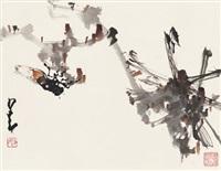 蝉趣图 (cicada's fun) by zhao shaoang