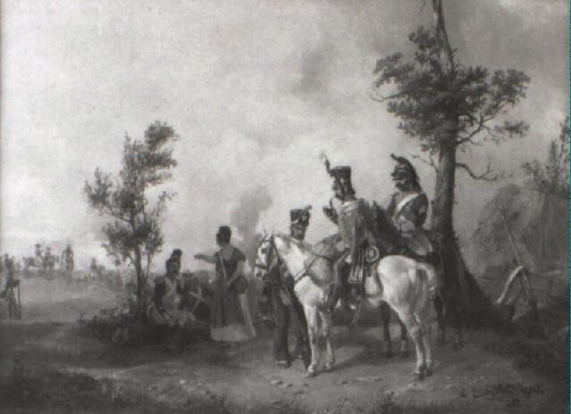 idyllische schilderung des soldatenlebens by ludwig elsholtz