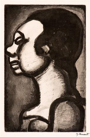 profilbildnis by georges rouault