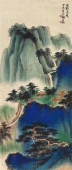 山水 by xie zhiliu
