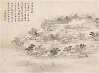 landscape by liu yin