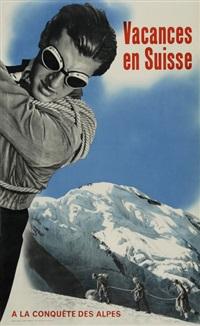 vacances en suisse a la conquete des alpes by hans aeschbach