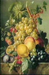 sommerliches fruchtestilleben by moise jacobber