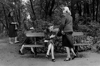 paris prostitutes in bois de boulogne by frank horvat