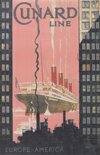 cunard line by kenneth shoesmith