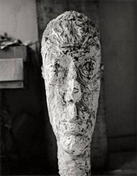 sculpture by alberto giacometti by herbert matter
