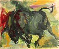 juarez series, no. 20 by elaine de kooning