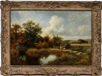 summer landscape by david bates