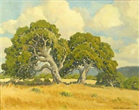 california oaks by joseph hastings bennett